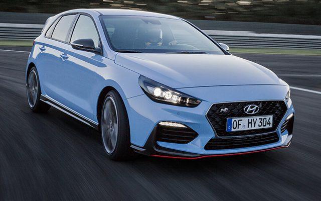 Hyundai Hochleistungsmodell i30 N