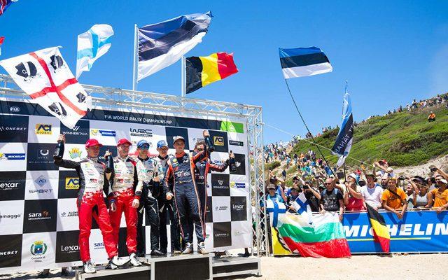 Hyundai Motorsport schließt Rallye Sardinien mit Podestplatz ab